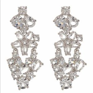 Kate Spade Clink of Ice Chandelier Earrings
